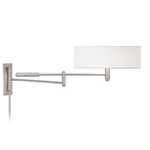 sonneman perno satin nickel adjustable pin up wall lamp 7002 13