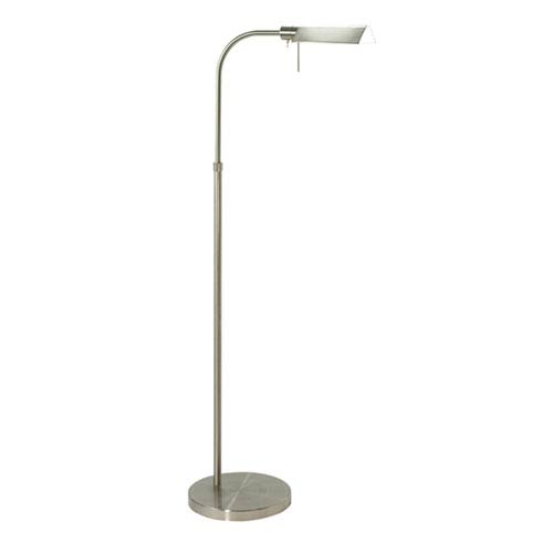 Tenda Pharmacy Nickel Adjustable Floor Lamp