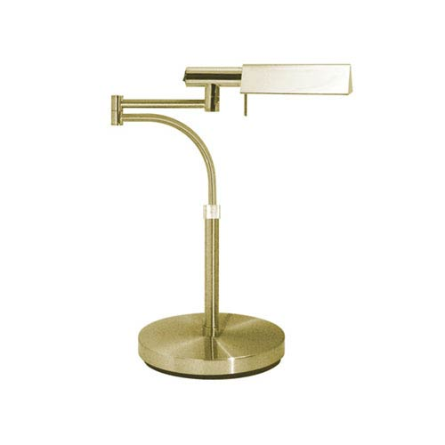 E-Tenda Satin Brass One-Light Desk Lamp