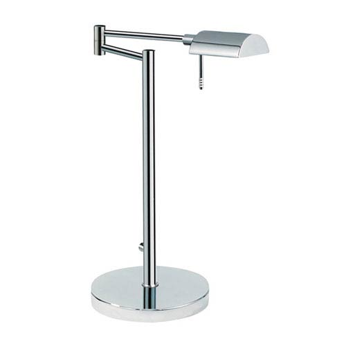 SONNEMAN D Lite Polished Chrome One-Light Desk Lamp