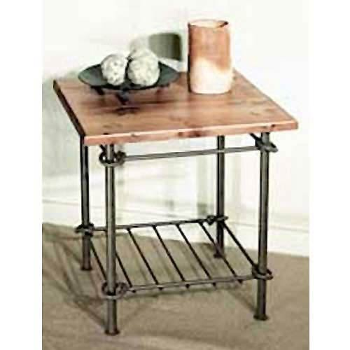 Knot Natural Black Side Table