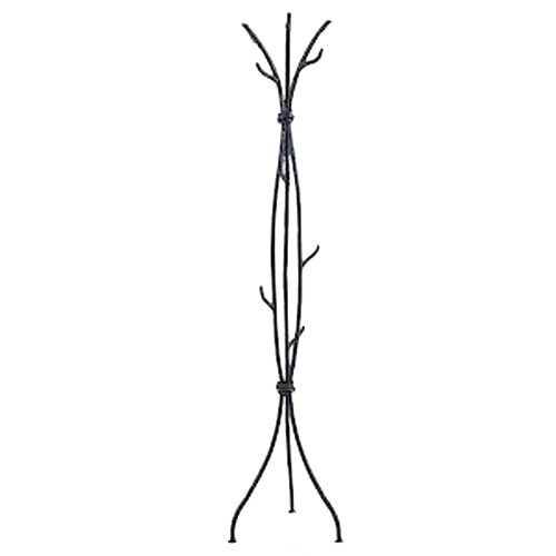 Sassafras Natural Black Coat Rack