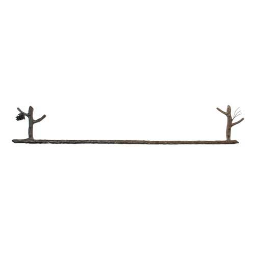 Pine 32-Inch Towel Bar