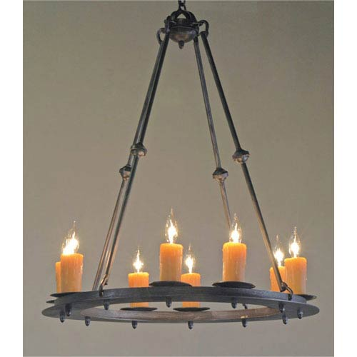 Made in usa natural iron chandeliers free shipping bellacor nova natural black eight light amber chandelier aloadofball Choice Image