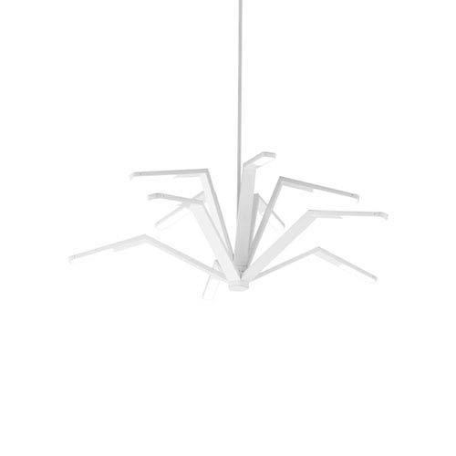 Aragon White LED Chandelier