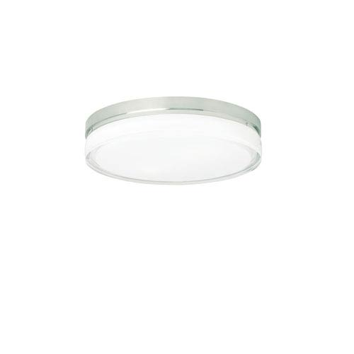 Tech Lighting Cirque Satin Nickel Two-Light LED 11-Inch Flush Mount