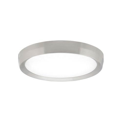 Bespin Satin Nickel LED Flush Mount