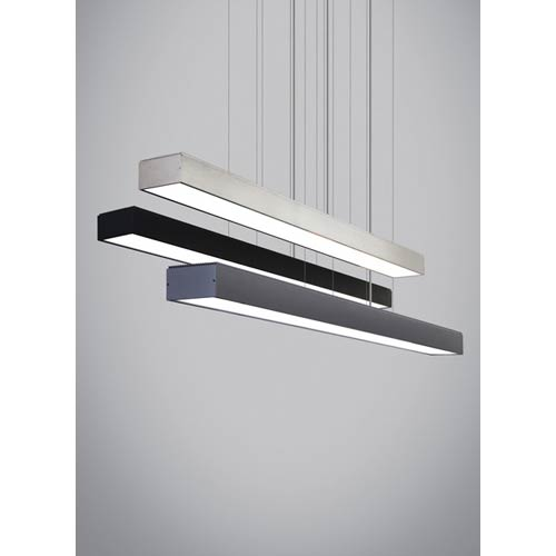 Knox Gunmetal LED Linear Suspension Pendant