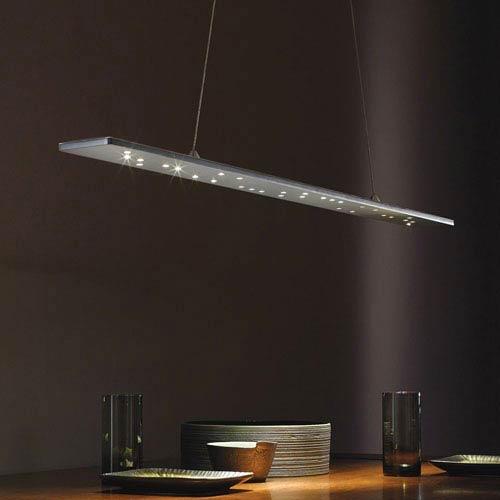 Tech Lighting Parallax White LED Linear Suspension Pendant