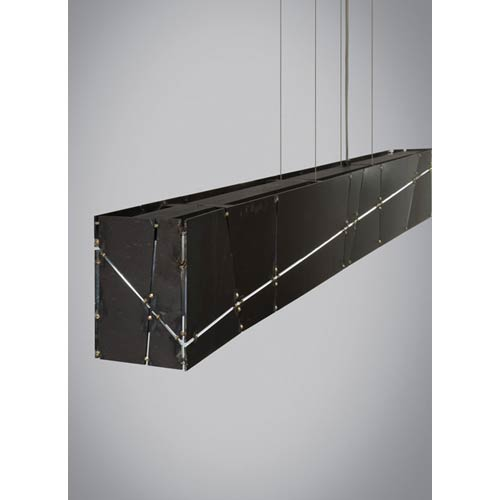 Tech Lighting Crossroads Steel LED Linear Suspension Pendant