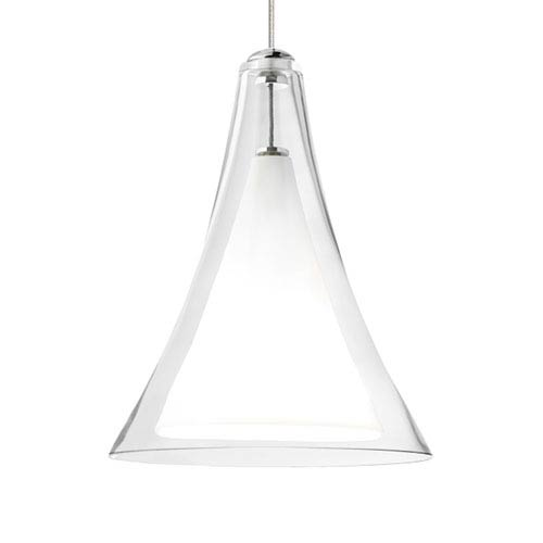 Tech Lighting Melrose II Clear One-Light Low-Voltage Mini-Pendant