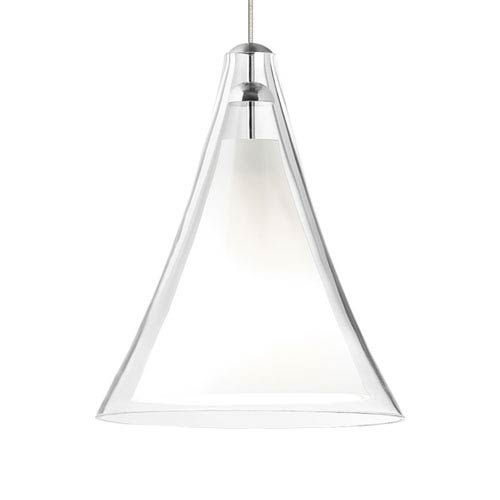 Tech Lighting Mini Melrose II Clear Glass One-Light Low-Voltage Mini-Pendant