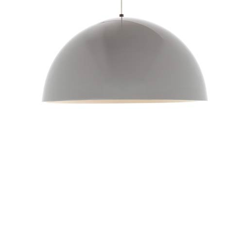 Tech Lighting Powell Street One-Light Pendant with Gloss White Shade
