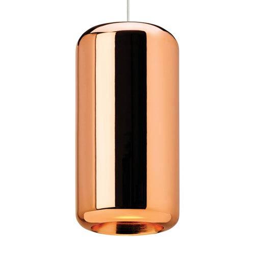 Iridium Copper One-Light Line-Voltage Mini-Pendant