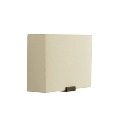 Tech Lighting Boreal Ivory One-Light Wall Sconce with Antique Bronze Metalwork