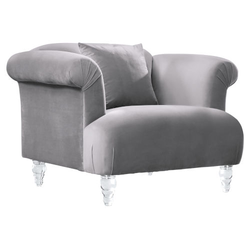 Elegance Gray Sofa Chair