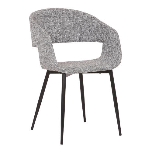 Jocelyn Gray with Gold Dining Chair