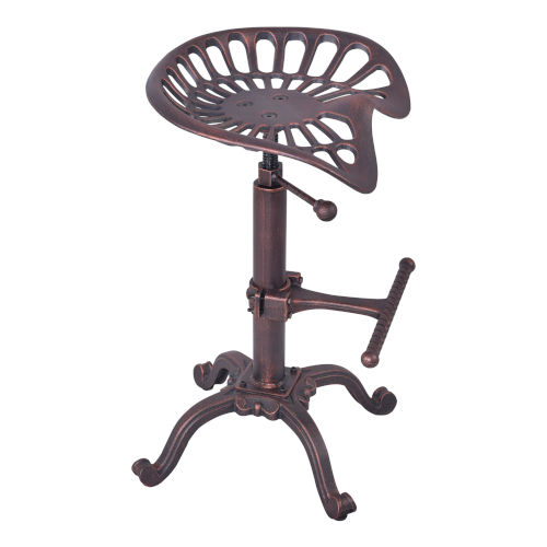 Jax Industrial Copper 27-Inch Counter Stool