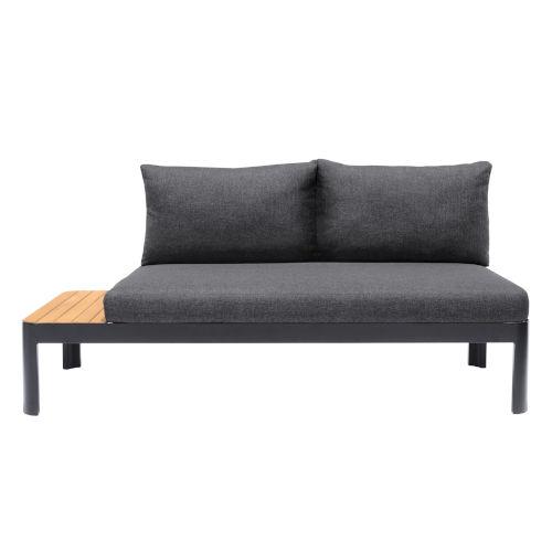 Portals Black Outdoor Sofa