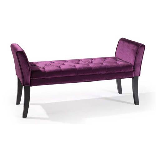Purple Chatham Bench