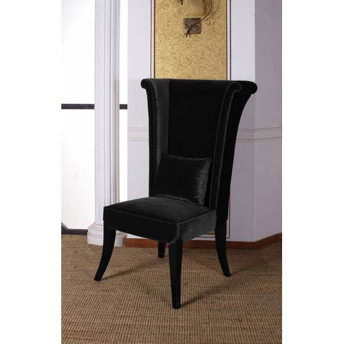 Mad Hatter Black Dining Chair