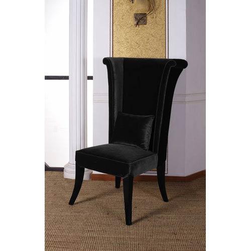 Superbe Armen Living Mad Hatter Black Dining Chair