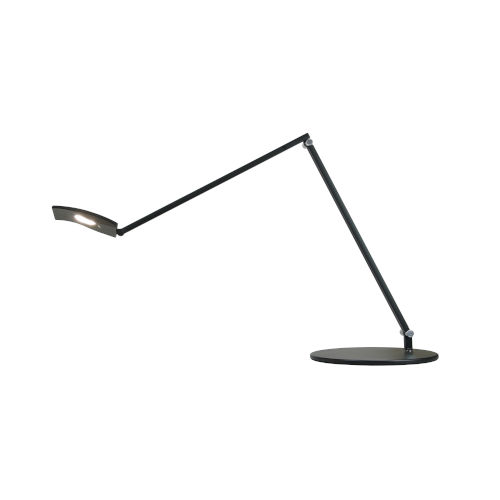 Mosso Metallic Black LED Pro Desk Lamp with Two-Piece Clamp