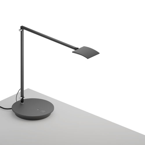 Mosso Metallic Black LED Pro Desk Lamp with Power Base