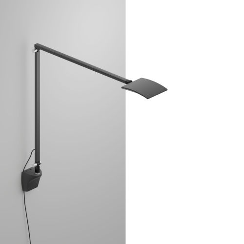 Mosso Metallic Black LED Pro Desk Lamp with Wall Mount
