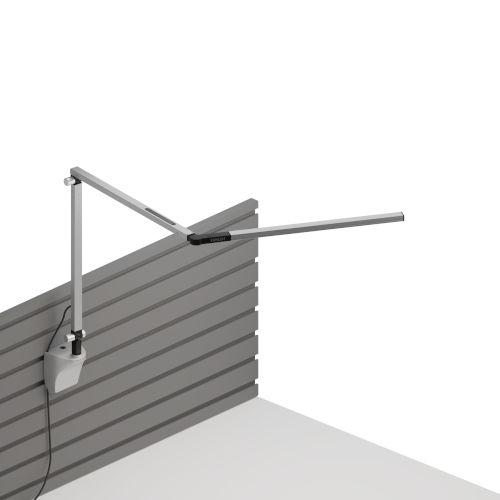 Z-Bar Silver 4500K LED Desk Lamp