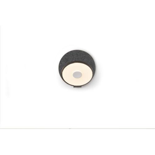 Gravy Metallic Black Oxford LED Hardwire Wall Sconce