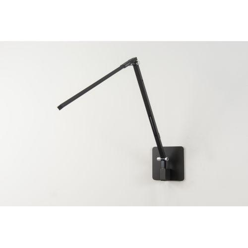 Metallic Black LED Wall Mount