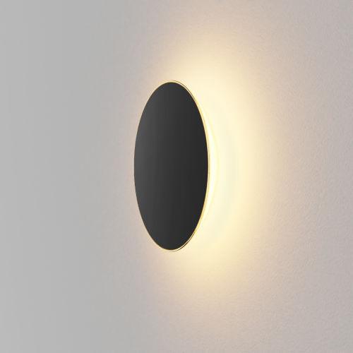 Ramen Matte Black 9-Inch LED Outdoor Wall Sconce