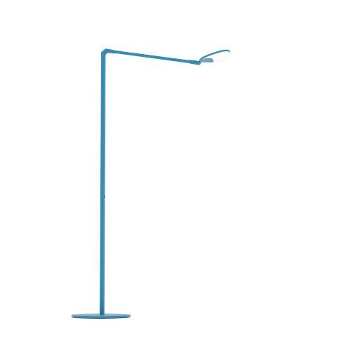Splitty Matte Pacific Blue LED Floor Lamp