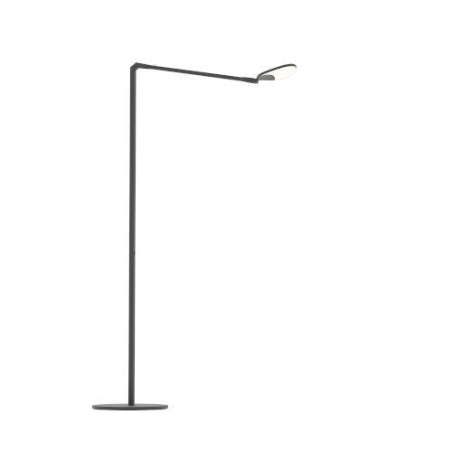 Splitty Matte Black LED Floor Lamp