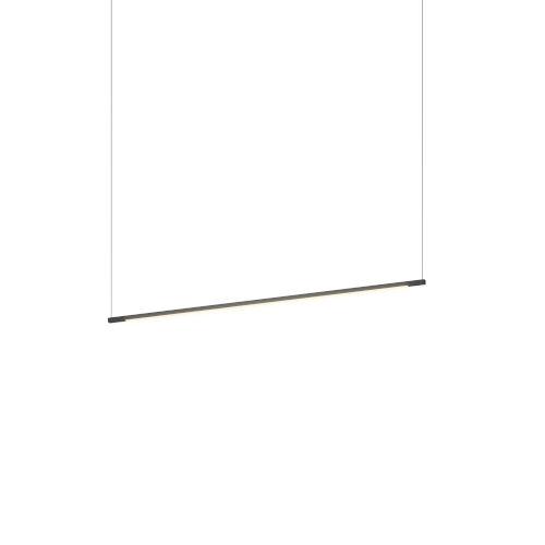 Z-Bar Matte Black 36-Inch LED Pendant