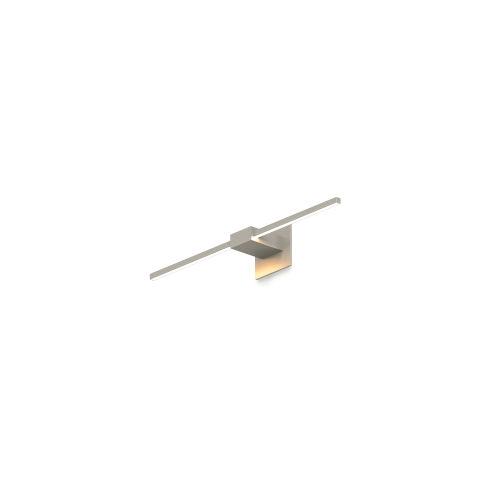 Z-Bar Brushed Nickel Soft Warm LED Wall Sconce