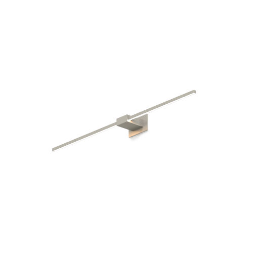Z-Bar Brushed Nickel 36-Inch LED Wall Sconce