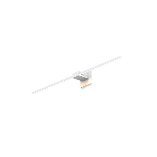 Z-Bar Matte White Soft Warm LED Wall Sconce