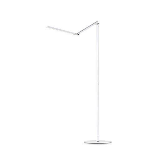 Z-Bar White LED Energy Star Floor Lamp