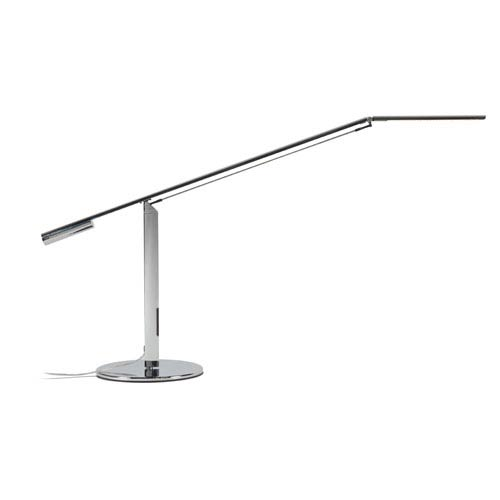 Equo Chrome LED Desk Lamp with Warm Light