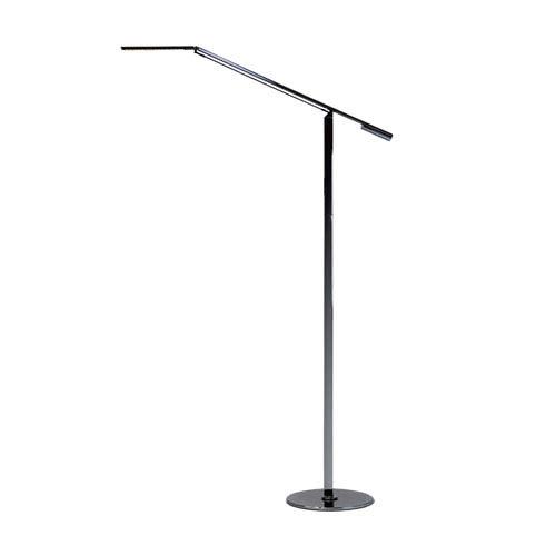 Equo Chrome Neutral White LED Floor Lamp