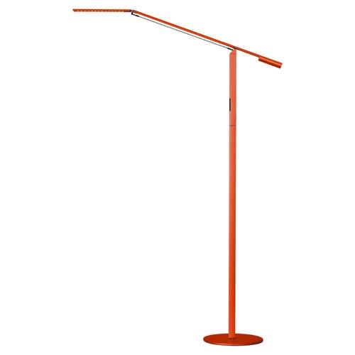 Koncept Equo Orange LED Floor Lamp - Warm Light