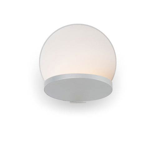 Gravy Silver Plug-In LED Wall Sconce