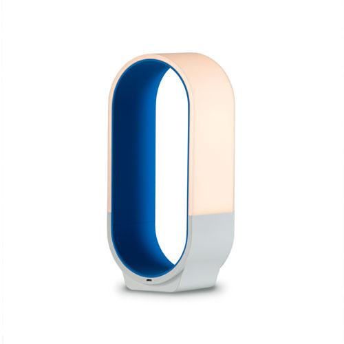 Mr. Go Soft Blue LED Desk Lamp