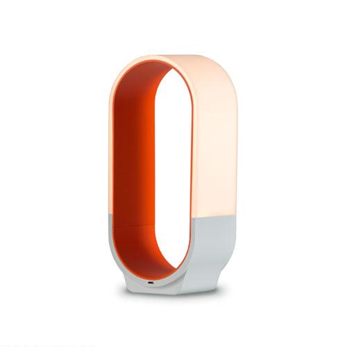 Mr. Go Soft Orange LED Desk Lamp