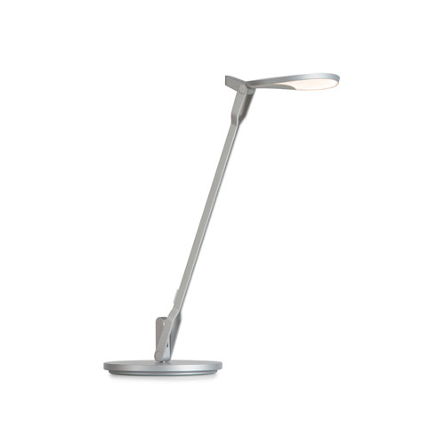 Splitty Pro Silver LED Desk Lamp