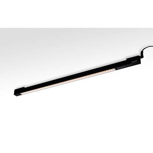 UCX Metallic Black 19.5-Inch Wide  Neutral White LED Undercabinet light