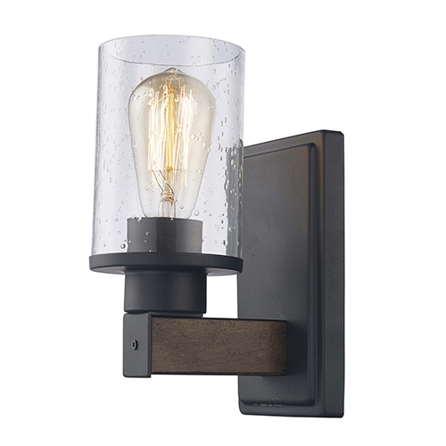 Siesta Rubbed Oil Bronze One-Light Wall Sconce