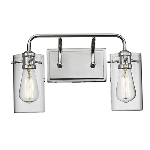 Townsend Polished Chrome Two-Light Wall Sconce